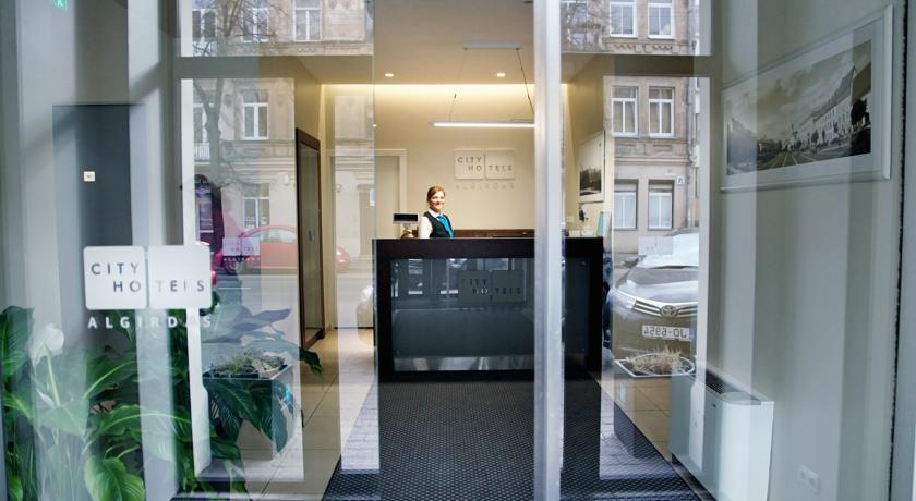 City Hotel Algirdas, Вильнюс - ресепшн