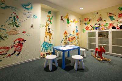 Отель GRATA в Вильнюсе, детская комната