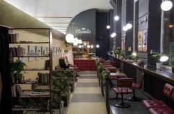 Кафетерий «Gyva planeta», интерьер