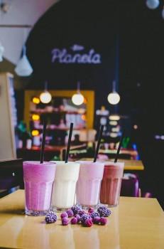 Кафетерий «Gyva planeta» в Вильнюсе