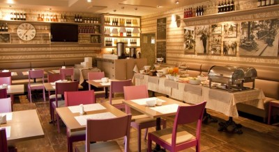City Hotel Algirdas, Вильнюс, ресторан St. Michel